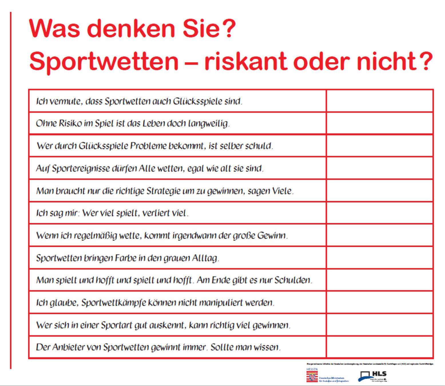Hessische Landesstelle FГјr Suchtfragen
